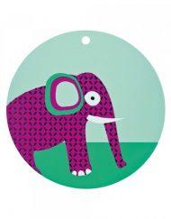 Lassig Подложка за хранене Wildlife Elephant LSPM086