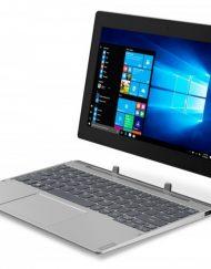 Tablet, Lenovo Miix D330 /10.1''/ Intel N4000 (2.6G)/ 4GB RAM/ 64GB SSD/ Win10 Pro/ Grey +detachable KBD&Pen (81H300FQBM)