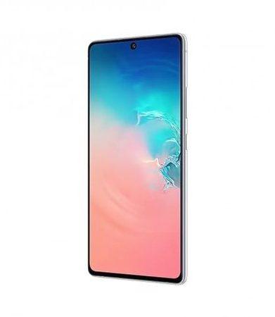 Smartphone, Samsung GALAXY S10 Lite, 6.7'', Arm Octa (2.8G), 8GB RAM, 128GB Storage, Android 10, White (SM-G770FZWDBGL)