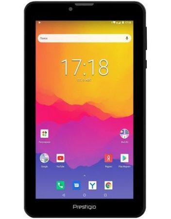 Tablet, PRESTIGIO Wize 4137 4G /7''/ Arm Quad (1.4G)/ 1GB RAM/ 16GB Storage/ Android/ Black (PMT4137_4G_D)