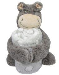 Kikkaboo Сет играчка с одеяло Hippo