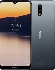 Smartphone, NOKIA 2.3 TA-1206, Dual Sim, 6.2'', Arm Quad (2.0G), 2GB RAM, 32GB Storage, Android 9, Charcoal(719901092491)