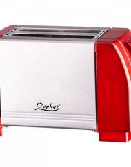 Тостер за хляб ZEPHYR ZP 1440 JR, 750W, 2 филийки, Червен