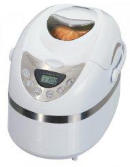 Хлебопекарна IQ EX-2165, 600W, 900 гр, 12 програми, Таймер, Регулиране загара на коричката, Бял