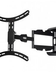 TV BRACKET, HAMA Стенна, Регулируема, 165 cm (65''), 25 кг, 2 рамена, 3 звезди, Черен (108712)