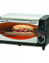 РАЗОПАКОВАН - Тостер за сандвичи - фурна SAPIR SP 1441 NSB, 600W, 10 литра, Таймер, Черна/Сребрист