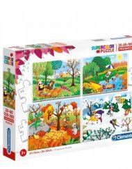 CLEMENTONI Пъзел Four Seasons 21408