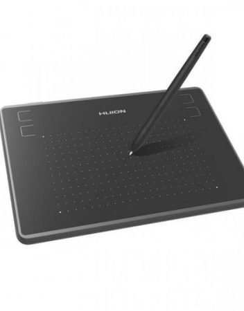Graphics Tablet, HUION Inspiroy H430P, USB, Черен