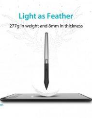 Graphics Tablet, HUION Inspiroy H640P, USB, Черен