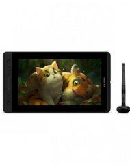 Graphics Tablet, HUION Kamvas Pro 13, USB-C, Черен/Сребрист
