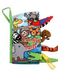 Jollybaby Мека книжка с опашки Джунгла
