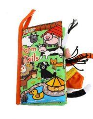 Jollybaby Мека книжка с опашки Ферма