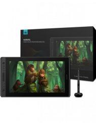 Graphics Tablet, HUION Kamvas Pro 16 Premium, USB-C, Черен/Сребрист