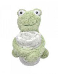 KIKKABOO Бебешки сет одеяло с играчка FROGGY 31103020041