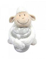 KIKKABOO Бебешки сет одеяло с играчка LAMB 31103020044