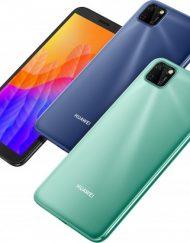 Smartphone, Huawei Y5p, Dual SIM, 6.45'', Arm Octa (2.0G), 2GB RAM, 32GB Storage, Android, Blue (6901443386529)