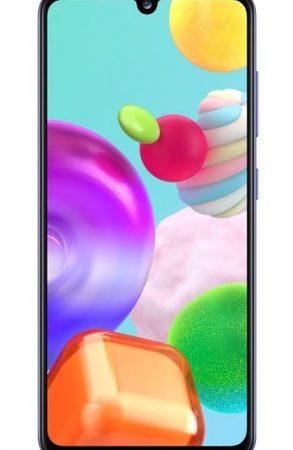 Smartphone, Samsung GALAXY A41, DualSIM, 6.1'', Arm Octa (2.0G), 4GB RAM, 64GB Storage, Android, Blue (SM-A415FZBDEUE)