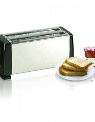 Тостер за 4 филийки SAPIR SP 1440 CS, 1300W, 6 степени, Инокс