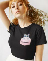 Дамска тениска - MeowSome!