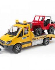 BRUDER Авариен камион MERCEDES BENZ 02535