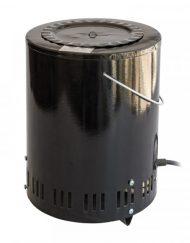 Чушкопек троен АИДА, 1600W, Керамична вътрешност, Черен
