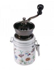 Механична мелничка за кафе Kinghoff KH 4145, Регулиране на големина, Керамика и метал