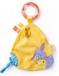 Niny Бебешка играчка за гушкане с дрънкалка Магаренцето Лаки