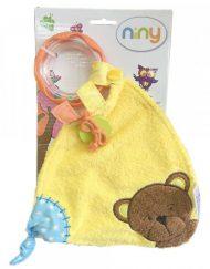 Niny Бебешка играчка за гушкане с дрънкалка Мечето Матахи