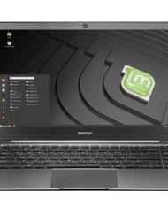 Prestigio SmartBook 141 S /14.1''/ Intel N3350 (2.4G)/ 4GB RAM/ 128GB SSD/ int. VC/ Linux/ Grey (PSB141S01CFL_DG_CIS)