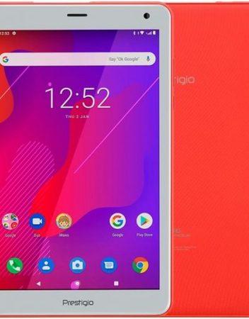 Tablet, PRESTIGIO Q PRO /8''/ Arm Quad (1.3G)/ 2GB RAM/ 16GB Storage/ Android/ Coral (PMT4238_4G_D_RD)