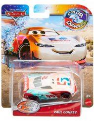 CARS Color Changers Количка 1:55 с променящ се цвят GNY94