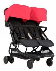 MOUNTAIN BUGGY Комбинирана количка за близнаци NANO DUO V1 ЧЕРВЕН 0137