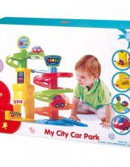 PlayGo Моят първи паркинг 4 нива с кола 2802