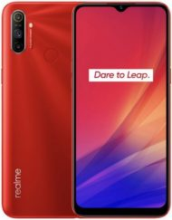 Smartphone, REALME C3, DualSIM, 6.5'', Arm Octa (2.0G), 3GB RAM, 64GB Storage, Android 10, Red (RMX2020332GB)