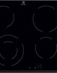 Стъклокерамичен плот за вграждане, Electrolux EHF6241FOK, 4 (една двойна)